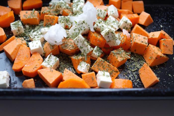 Süßkartoffel_Feta_Lunch_Mittagessen_Healthy_Veggie_Sophiehearts2