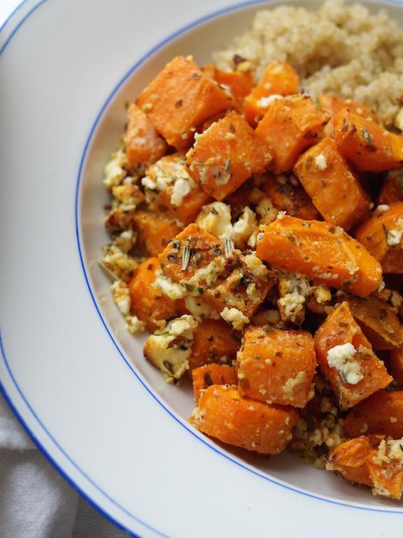 Süßkartoffel_Feta_Lunch_Mittagessen_Healthy_Veggie_Sophiehearts6