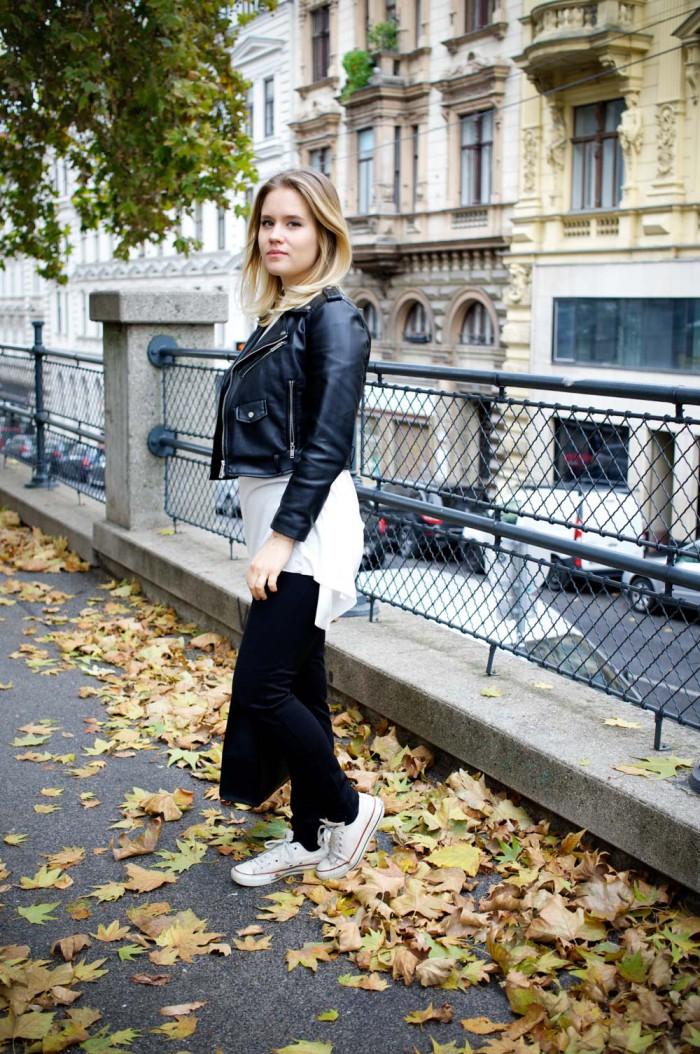 Terranova_Outfit_Herbst_Blackandwhite_Lederjacke_Sophiehearts (1 von 12)