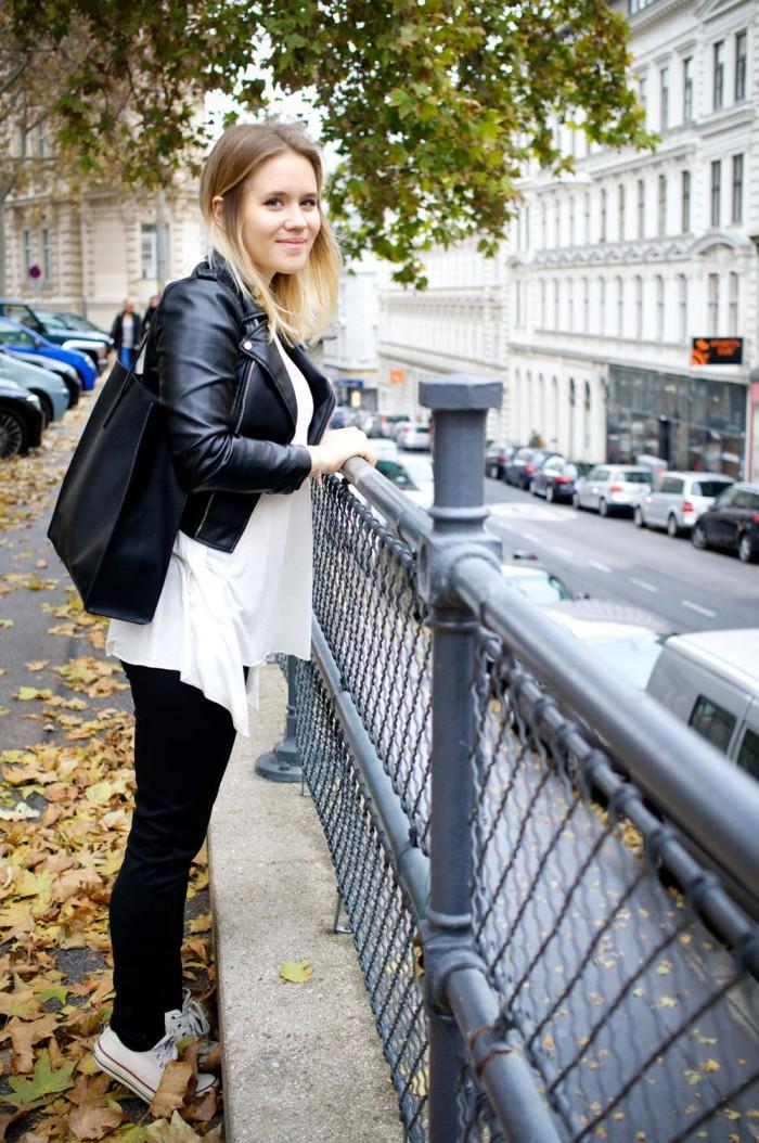Terranova_Outfit_Herbst_Blackandwhite_Lederjacke_Sophiehearts (6 von 12)