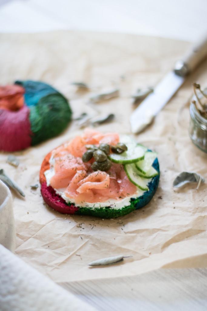 Rainbow-Bagels-Rezept-Food-Foodblog-Fashionblog-Wien.Sophiehearts13