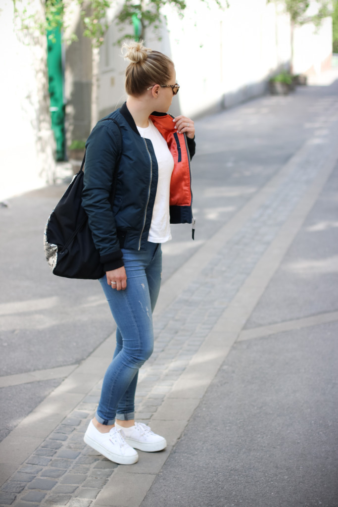 From day to night Bomberjacke Fashionblog Foodblog Wien Vienna Sophiehearts (2 von 6)