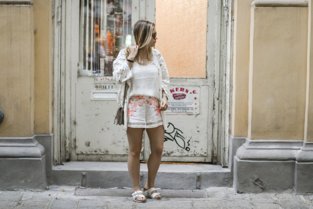7 ways to wear outfit floral prints fashionblog foodblog vienna wien sophiehearts3