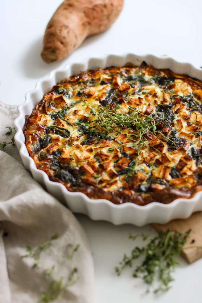 Glutenfreie Tarte mit Spinat und Schafkaese Rezept gesund Foodblog Fashionblog Wien Vienna Sophiehearts9