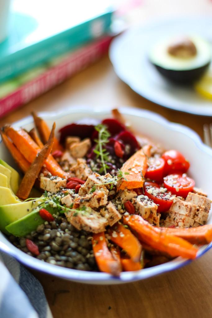 Lunch Bowl Rezept gesund Healthy Avocado Sophiehearts Fashionblog Foodblog Wien Vienna (3 von 5)