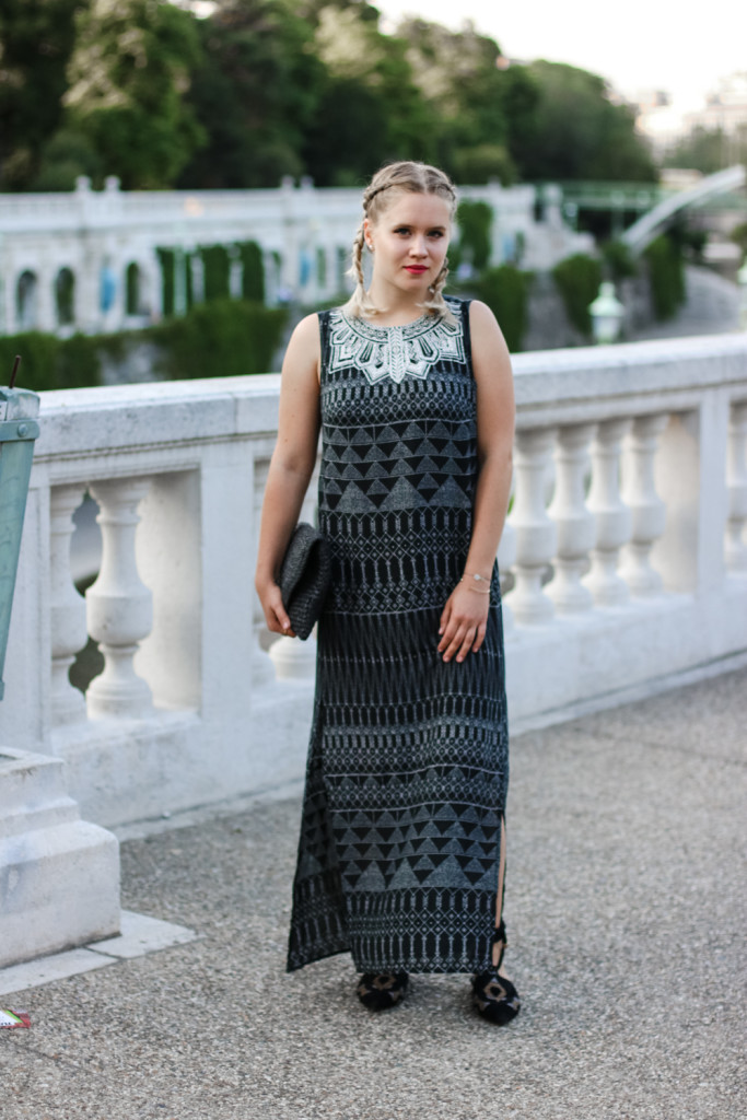 Maxikleid Boho Style Outfit Fashionblog Foodblog Vienna Wien Sophihearts (4 von 11)