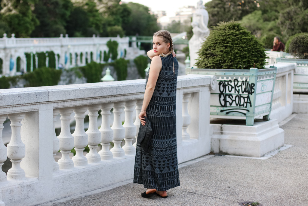 Maxikleid Boho Style Outfit Fashionblog Foodblog Vienna Wien Sophihearts (5 von 11)