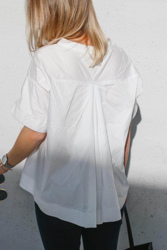 outfit ootd weisse bluse schwarze hose espandrillos sophiehearts fashionblog foodblog wien vienna (10 von 14)