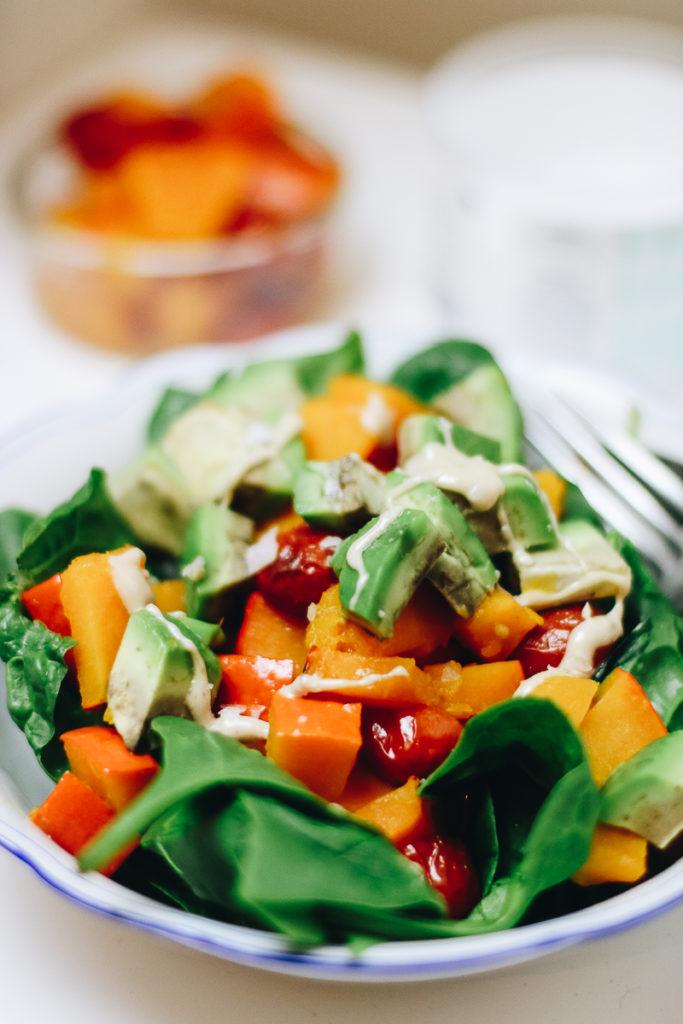kuerbis-salat-mit-avocado-healthy-gesund-lunch-foodblog-sophiehearts-wien-vienna-3-von-6